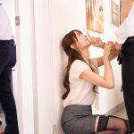 希島あいりアイポケ4月新作「微笑みながら優しく腰振る希島先輩の年下喰い性交」社内で声我慢セックス!!