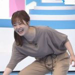 水卜麻美アナ 「レスリングの技」でお尻と股間が全開に!!【GIF動画あり】